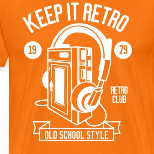 Keep it Retro 1979 Shirt I Love the 90s Oldschool - Männer Premium T-Shirt