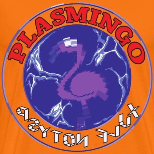 Plasmingo - Psyton Flux - Premium-T-shirt herr