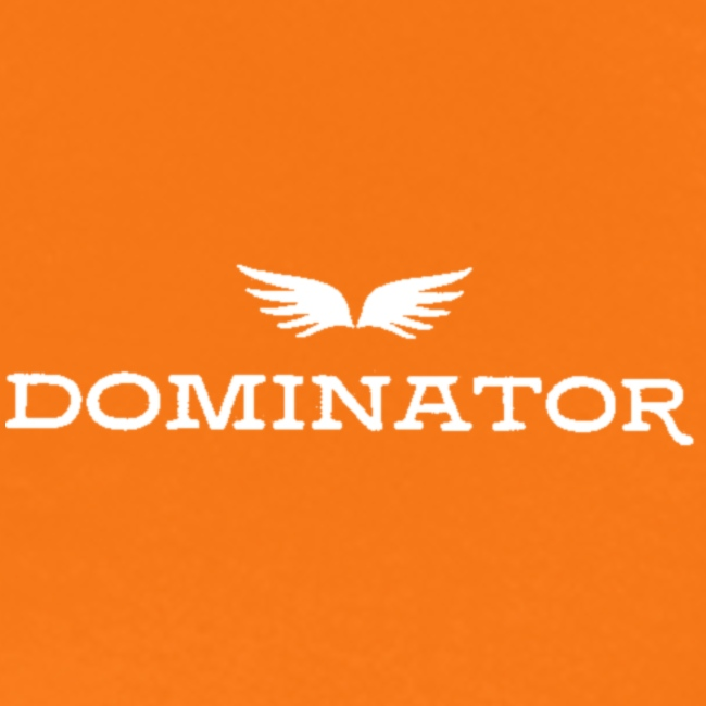 DOMINATOR white logo