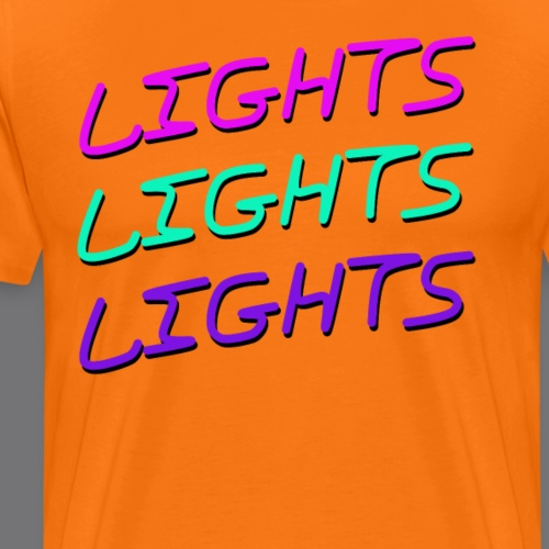 LIGHTS tee shirts - Men's Premium T-Shirt