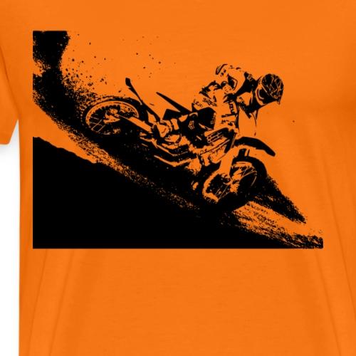 Motocross dirt bike - Men's Premium T-Shirt