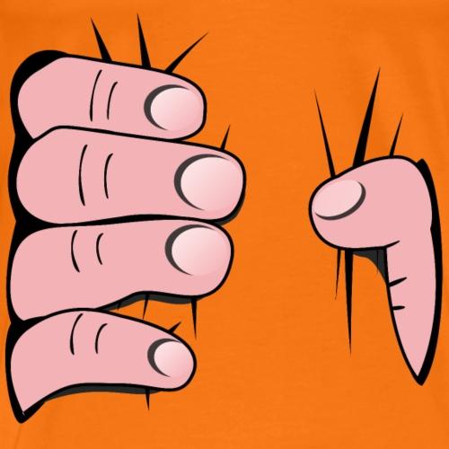 Die starken Hände - Hand die greift - Männer Premium T-Shirt