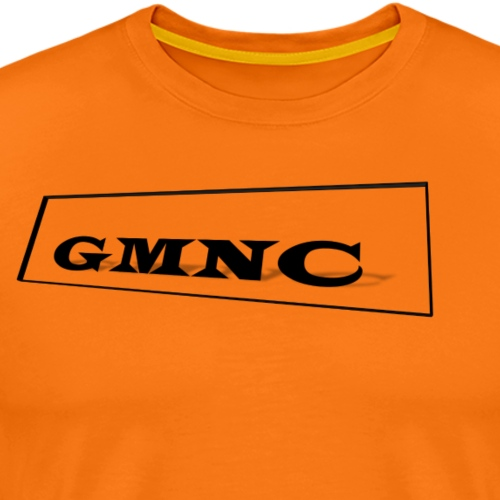 Einfacher aber moderner GMNC Schriftzug - Männer Premium T-Shirt