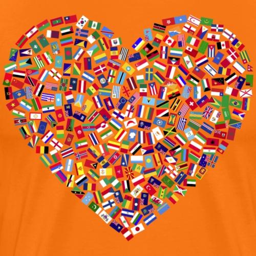 Ein Herz für die Welt - Männer Premium T-Shirt