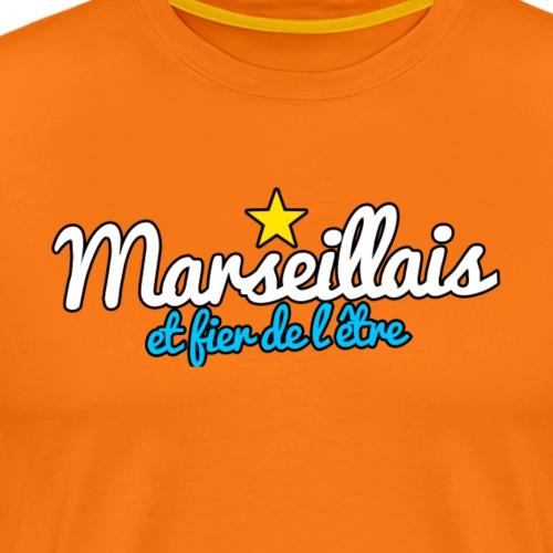 Collection Marseillais et fier de l'être - T-shirt Premium Homme