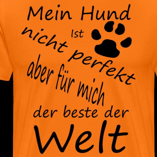 Hundesprüche,Hundebesitzer,Hundehalter,Pfoten - Männer Premium T-Shirt