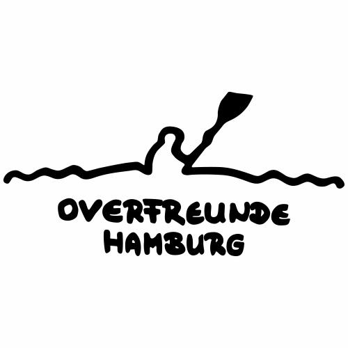 Logo OverfreundeHamburg Schwarz   Klein - Männer Premium T-Shirt