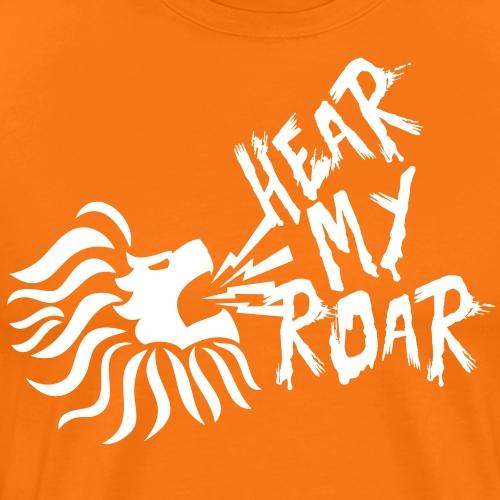 hearmyroar - Mannen Premium T-shirt