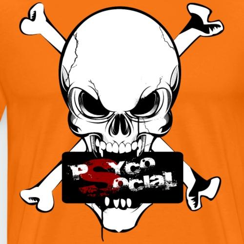 PsYcOsocial_black - Maglietta Premium da uomo