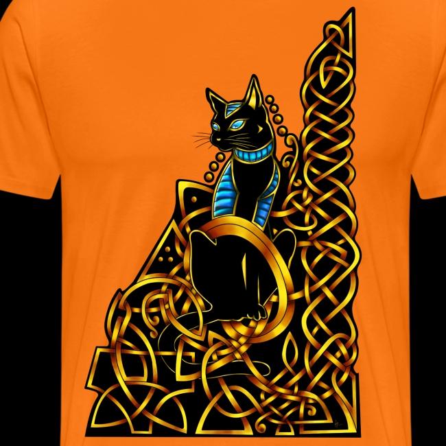 Celtic Cat - sitting