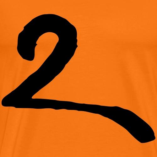 2 zwei two due - Männer Premium T-Shirt