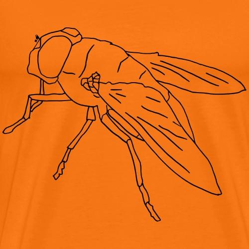 Fliege fly Riesenfliege - Männer Premium T-Shirt