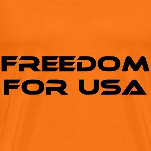 freedom for usa - Männer Premium T-Shirt