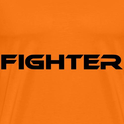 fighter kämpfer schriftzug - Männer Premium T-Shirt
