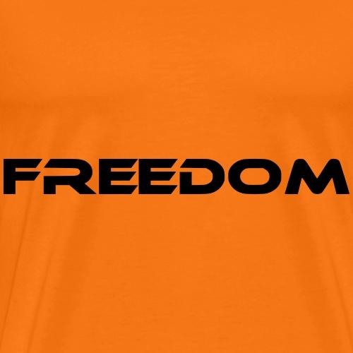 freedom schriftzug - Männer Premium T-Shirt