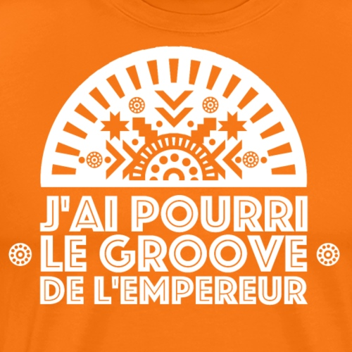 Kuzco / Le Groove de l'Empereur / Blanc - T-shirt Premium Homme