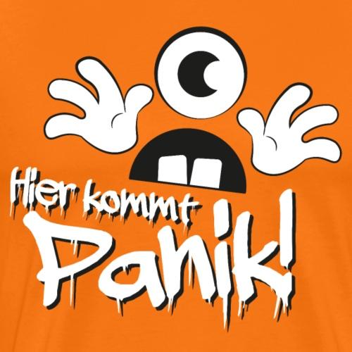 Hier kommt Panik - Männer Premium T-Shirt