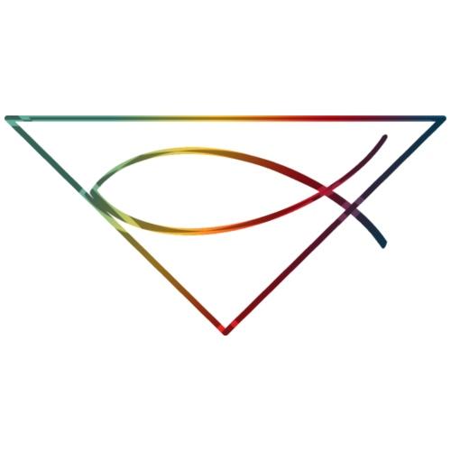 Christliches Symbol Ichtys Fisch 3 - Männer Premium T-Shirt