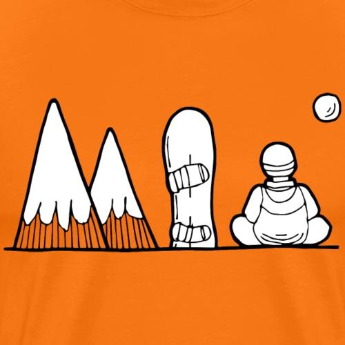 snowboard et montagnes