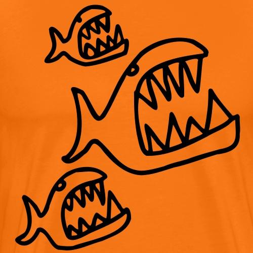 piranhas - Männer Premium T-Shirt