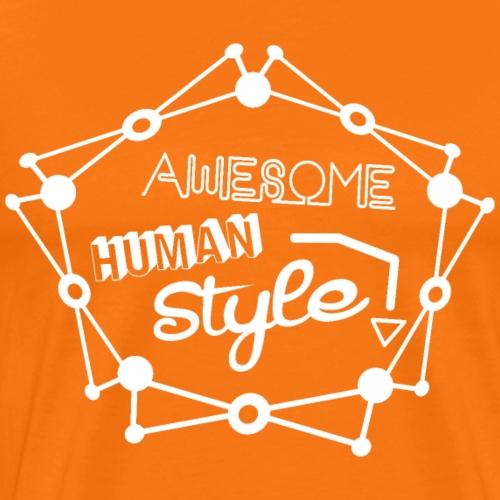 Awesome Human Style - Männer Premium T-Shirt