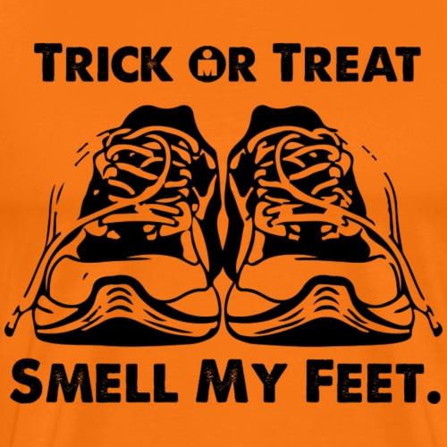 Smell My Feet blk - Men's Premium T-Shirt