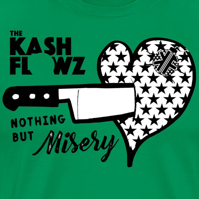 Nothing But Misery Knife Heart Black