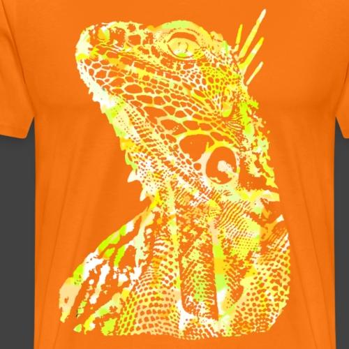 LIZARD1 - YELLOW - Men's Premium T-Shirt