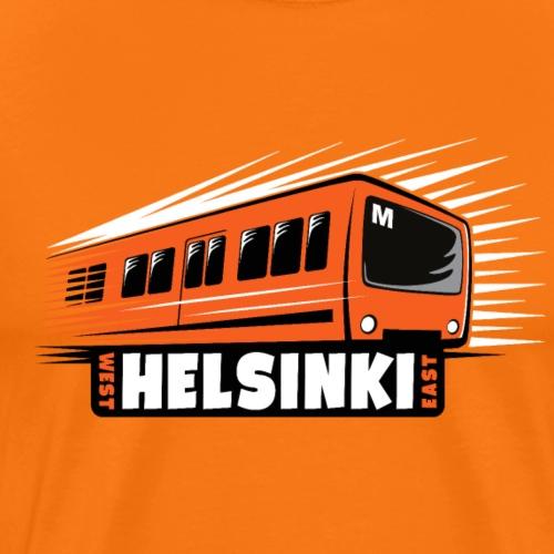 Helsinki Metro T-Shirts, Hoodies, Clothes, Gifts - Miesten premium t-paita
