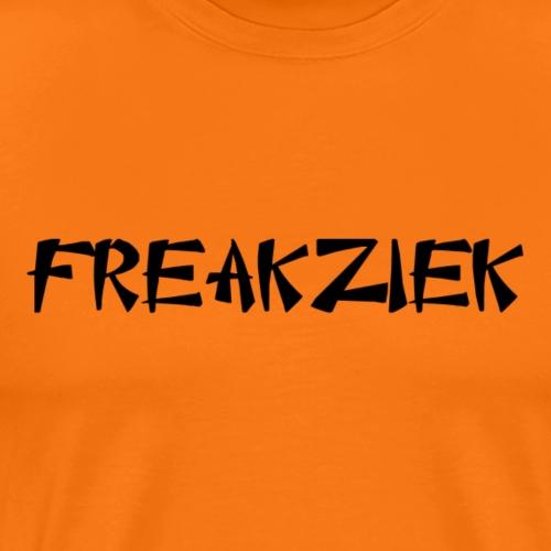 FZ letter logo - Mannen Premium T-shirt