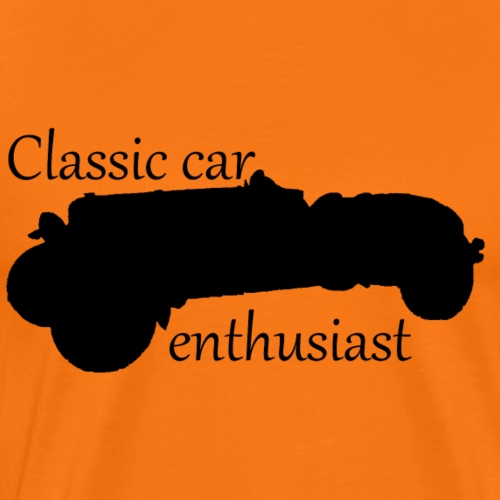 Classic car enthusiast - Men's Premium T-Shirt