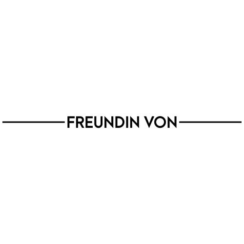 Textvorlage - FREUNDIN VON - Männer Premium T-Shirt