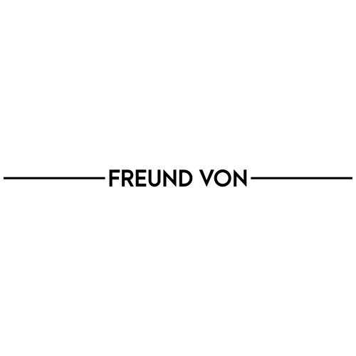 Textvorlage - FREUND VON - Männer Premium T-Shirt