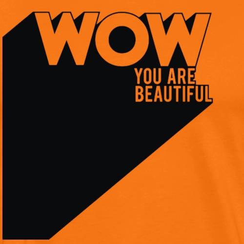 wow - T-shirt Premium Homme