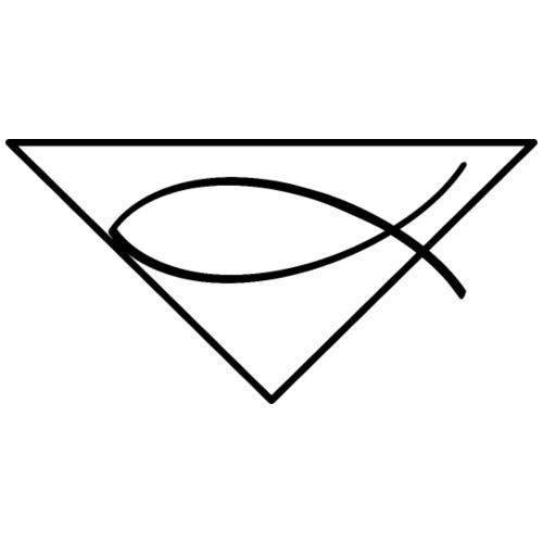 Christliches Symbol Ichtys Fisch 1 - Männer Premium T-Shirt