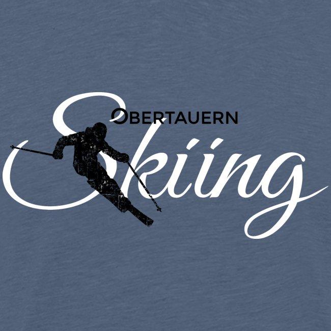Obertauern Skiing (Weiß) Apres-Ski Skifahrer