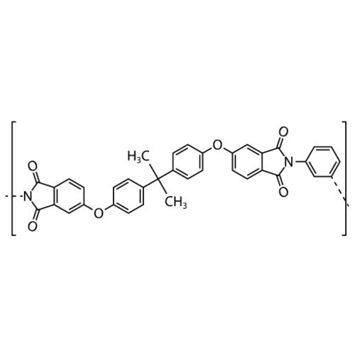 Polyetherimide (PEI) molecule. - Men's Premium T-Shirt