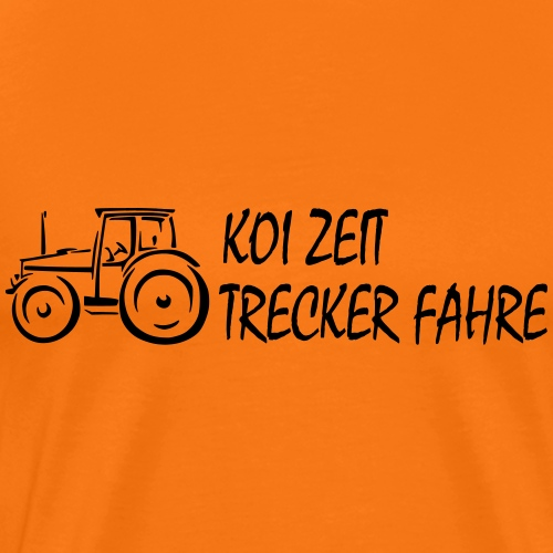 KoiZeit - Trecker - Männer Premium T-Shirt