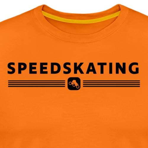 Speedskating - Männer Premium T-Shirt