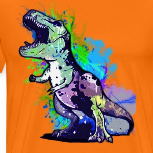 Rex Color - Maglietta Premium da uomo