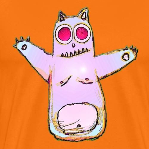 Lumpy Cat - Men's Premium T-Shirt