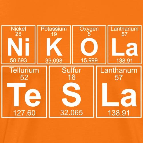 Ni-K-O-La Te-S-La (nikola_tesla) - Full - Men's Premium T-Shirt