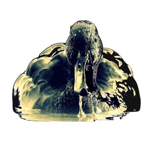 schwimmende Ente - Männer Premium T-Shirt