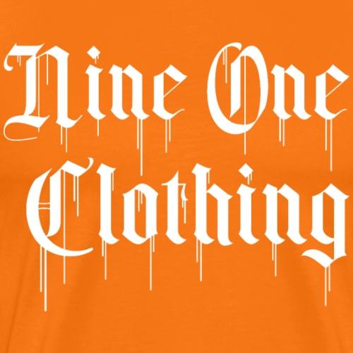 Nineone Classic Style Font 01 white - Männer Premium T-Shirt