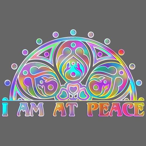 MANDALA I AM AT PEACE 4 - Männer Premium T-Shirt