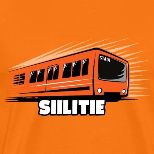 METRO SIILITIE, HELSINKI, Tekstiilit ja lahjat - Miesten premium t-paita
