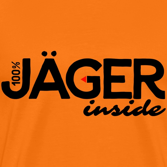 """Jäger inside"" exklusives Jägershirt-Original"