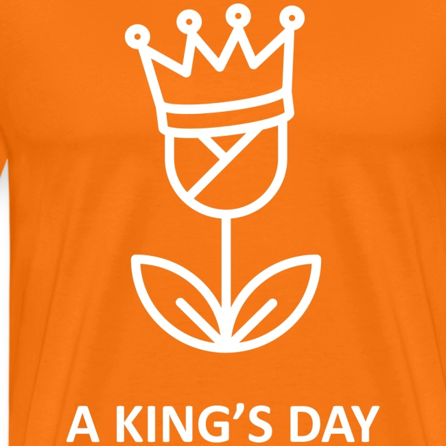 The official Founded in Holland Kingsday print