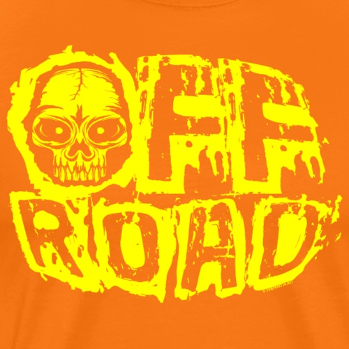 11A-12 OFF ROAD SKULL Textiles and gift products - Miesten premium t-paita