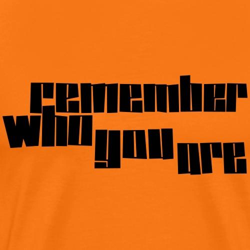 remember - Männer Premium T-Shirt